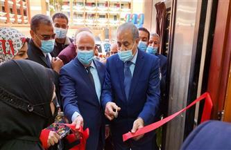 وزير التموين ومحافظ بورسعيد يفتتحان أول مركز تموين تكنولوجي مطور للخدمات اللوجستية | صور
