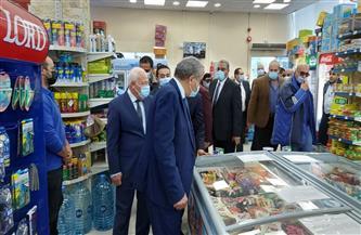 وزير التموين ومحافظ بورسعيد يتفقدان سوق بورفؤاد الحضاري الجديد| صور