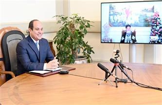 الرئيس السيسي يهنئ قداسة البابا تواضروس والشعب المصري بمناسبة عيد الميلاد المجيد