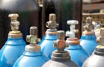 ضبط 10 أسطوانات أكسجين مجهولة المصدر بالبحيرة