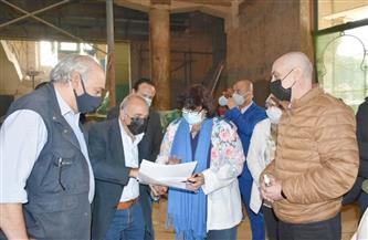 وزيرة الثقافة تتابع تنفيذ أعمال تطوير متحف الجزيرة للفنون | صور
