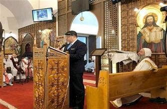 سفير مصر فى بيروت يشارك فى احتفالات عيد الميلاد فى لبنان