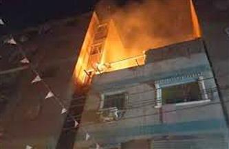 وفاة سيدة ونجلها في حريق بقرية الإبراهيمية بدسوق كفرالشيخ