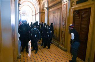 قوات الحرس الوطني تدخل مبنى الكونجرس الأمريكي لتأمينه
