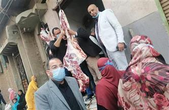 ضبط مصنع لمنتجات اللحوم وآخر للبسطرمة ينتج لحوما فاسدة بالمنوفية | صور
