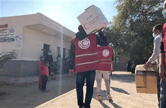 الهلال الأحمر المصري يطلق قوافل طبية في القرى الأكثر احتياجا بالمنوفية