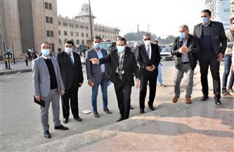 محافظ الغربية يتابع أعمال تطوير ميدان المحطة والسيد البدوي بطنطا| صور