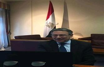 سفير مصر بالمملكة المتحدة يُهنئ الجالية المصرية في بريطانيا بحلول عيد الميلاد المجيد |صور