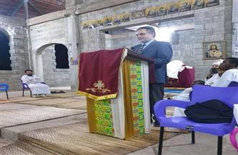 سفير مصر في لومي يشارك في احتفال الكنيسة المصرية القبطية في توجو بعيد الميلاد | صور