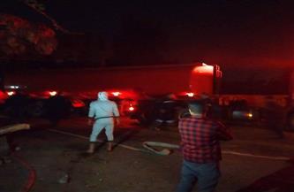 السيطرة على حريق في مخزن للزيوت بإيتاي البارود