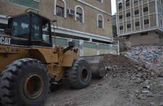 رفع 140 طن مخلفات وتراكمات في حملات نظافة موسعة بمراكز الغربية