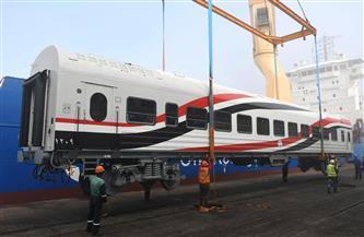 وصول 22 عربة سكة حديد إلى ميناء الإسكندرية ضمن الصفقة الأضخم في تاريخ النقل| صور