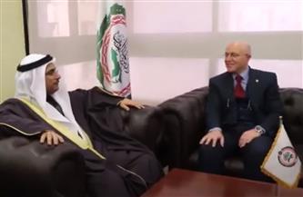 رئيس البرلمان العربي يستقبل سفير المملكة المغربية لدى مصر | فيديو