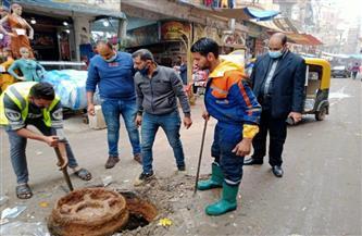 محافظ كفرالشيخ يتابع استكمال أعمال تطهير خطوط الصرف الصحي بدسوق |صور