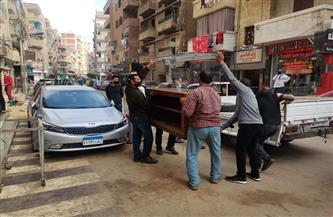 حملات مكبرة لإزالة كافة الإشغالات والتعديات على الشوارع والأرصفة بمراكز كفر الشيخ