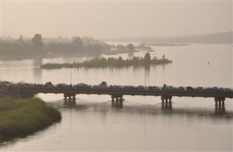 الفيضان الثاني لنهر النيجر: ارتفاع منسوب المياه المرئية على الضفة اليمني