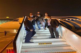 وصول البحارة المصريين مطار القاهرة بعد تحريرهم.. والخارجية: حماية المواطنين في أنحاء العالم «أولوية»|صور