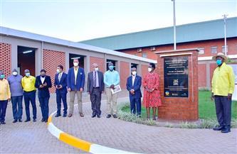 الرئيس الأوغندي يفتتح مستشفى كايونجا بعد انتهاء المقاولون العرب من إنجازه| صور