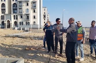 مسئولو «الإسكان» يتفقدون مشروعات مدينة المنصورة الجديدة