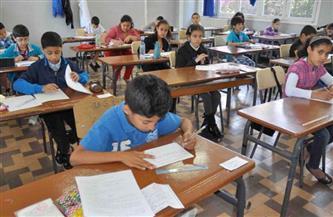 انتظام اللجان الامتحانية للصف الرابع الابتدائي في مدارس القاهرة