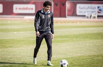 محمد هاني ينتظم في تدريبات الأهلي بعد شفائه من فيروس كورونا