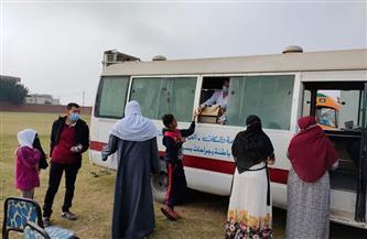 """""""الصحة"""": إطلاق قافلة طبية ضمن مبادرة """"حياة كريمة"""" بمحافظة أسوان"""