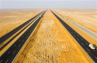 15 معلومة عن مشروع تطوير طريق الصعيد الصحراوي الغربي