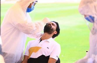 مسحة طبية للاعبي الإسماعيلي قبل مواجهة الرجاء بالبطولة العربية