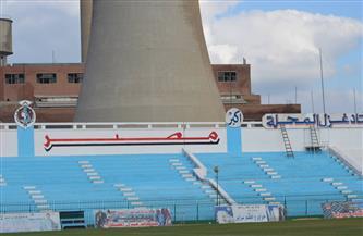 مسابقات اتحاد الكرة: مباراة المحلة وأسوان باستاد الغزل