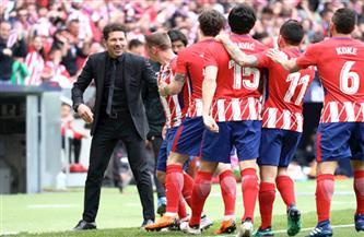 أتلتيكو يتوج بلقب الدوري الإسباني للمرة الـ11 وهويسكا وبلد الوليد يهبطان للدرجة الثانية