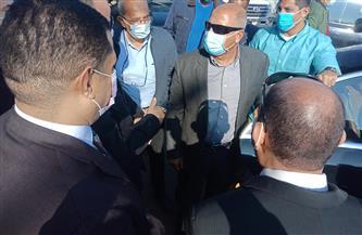 وزير النقل ومحافظ أسيوط يتفقدان أعمال تنفيذ مشروع محور ديروط الحر | صور