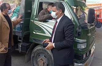 رئيس حي السيدة زينب لـ «بوابة الأهرام»: تحرير 12 محضر عدم ارتداء كمامة و7 إشغالات طريق | صور