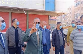 غلق 7 مطاعم ومقاهٍ لعدم تطبيق الإجراءات الاحترازية والتعدي على حرم الشوارع بكفر الشيخ | صور