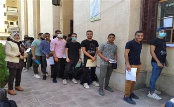 جامعة-الفيوم-بدء-تسكين-الطلاب-والطالبات-بالمدن-الجامعية-|صور