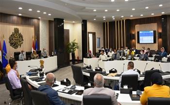 محافظ-أسوان-يلتقي-لجنة-مجلس-الوزراء-للمشروعات-القومية