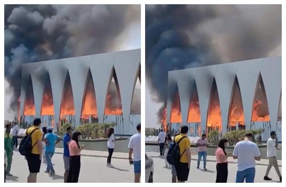 حريق مهرجان الجونة وجثة الراهب وطفل القطار أخبار الحوادث اليوم