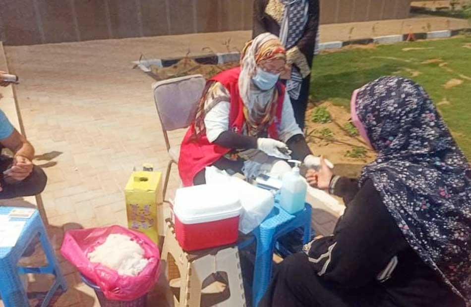 أخبار جنوب سيناء إقبال على مبادرة الكشف عن الاعتلال الكلوي بمدينة الطور