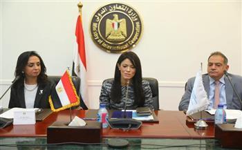 وزيرة التعاون الدولي تشهد توقيع اتفاق بين مؤسسة التمويل والمجلس القومي للمرأة
