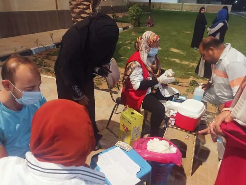 إقبال على مبادرة الكشف عن الاعتلال الكلوي بمدينة الطور