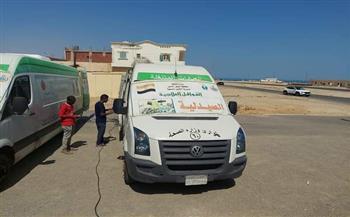 قوافل-طبية-للمواطنين-بالمناطق-النائية-بشمال-سيناء-