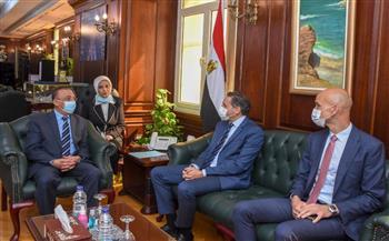 -محافظ-الإسكندرية-يستقبل-سفير-فرنسا-لدول-البحر-المتوسط-لبحث-التعاون- --صور