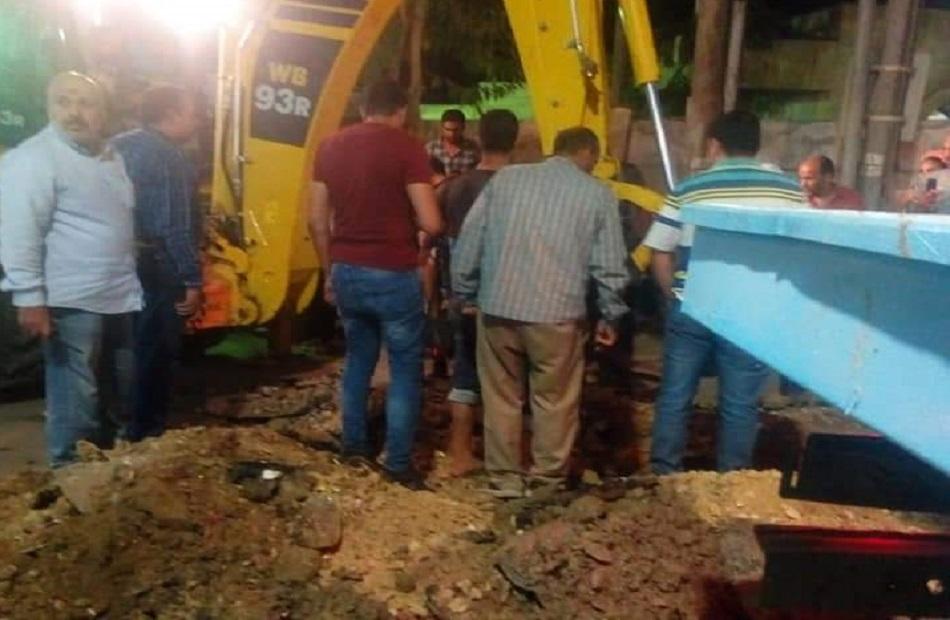 أخبار الغربية عودة مياه الشرب إلى المنازل بمدينة كفرالزيات عقب انقطاع  ساعة