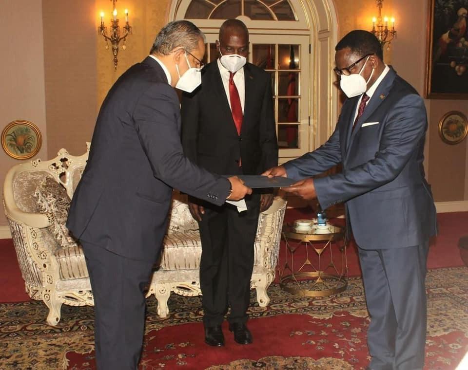 سفير مصر في ليلنجواي يُقدّم أوراق اعتماده إلى رئيس مالاوي | صور