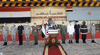 القوات-الجوية-تنفذ-عروضا-جوية-في-سماء-مصر-احتفالا-بعيدها-السنوي|-صور