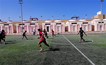 معسكر-شباب-بلطيم-يستقبل-دوري-خماسي-كرة-القدم-بمشاركة-فرق--محافظة-|صور-