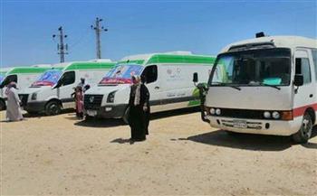 مدينة-مرسى-مطروح-قافلة-طبية-مجانية-للكشف-على-أهالي-قرية-أبو-لهو-بحري-