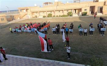 تتويج-فريق-شمال-سيناء-بدوري-كرة-القدم-الخماسية-بمعسكر-شباب-بلطيم-