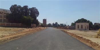 محافظ-أسيوط-رصف-الطريق-الدائري-لقرية-النواورة-بالبداري-بطول--كم|صور