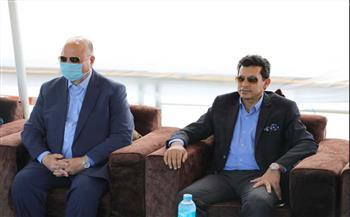 محافظ-القاهرة-يشهد-حفل-وزير-الشباب-لافتتاح-مشروع-سفينة-النيل-للشباب-العربي|صور