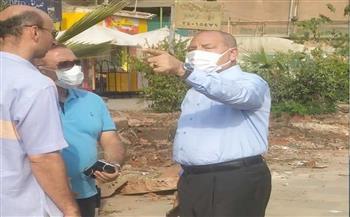 أخبار-القاهرة-بدء-توسعة-شارع-أنور-المفتي-في-حي-شرق-مدينة-نصر|-صور